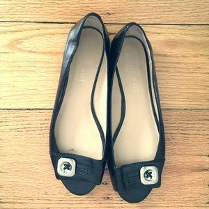 Nine West Patent Leather Black Flats